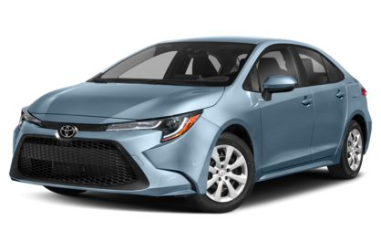 3/4 Front Glamour 2021 Toyota Corolla