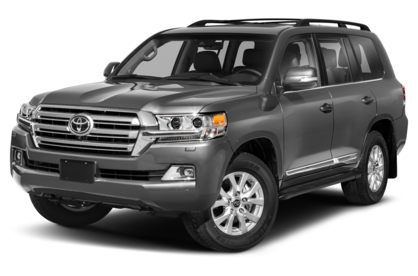 3/4 Front Glamour 2021 Toyota Land Cruiser