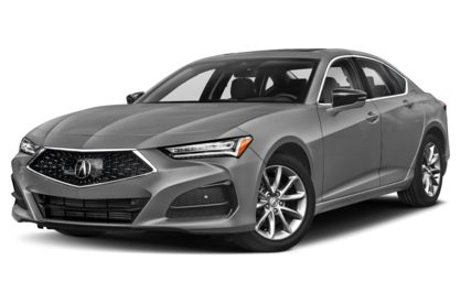 3/4 Front Glamour 2021 Acura TLX