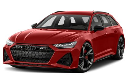 3/4 Front Glamour 2021 Audi RS 6