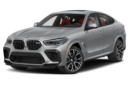 3/4 Front Glamour 2021 BMW X6 M