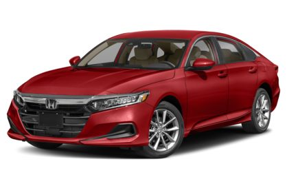 3/4 Front Glamour 2021 Honda Accord