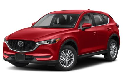 3/4 Front Glamour 2021 Mazda CX-5