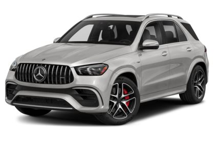 3/4 Front Glamour 2021 Mercedes-Benz GLE-Class