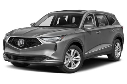 3/4 Front Glamour 2022 Acura MDX