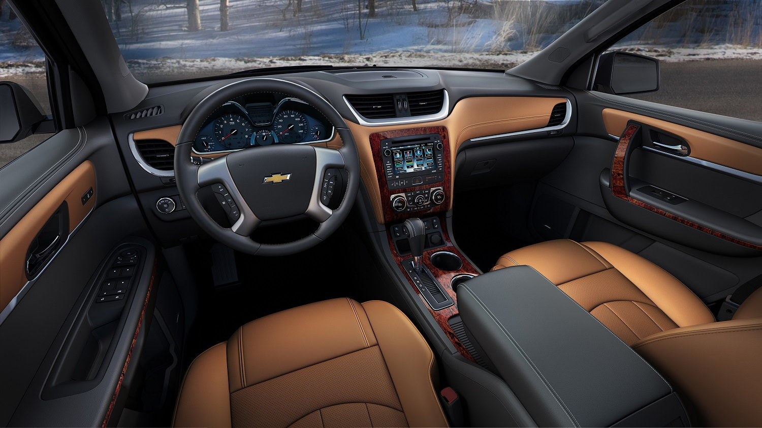 2016 Chevrolet Traverse Interior Dash
