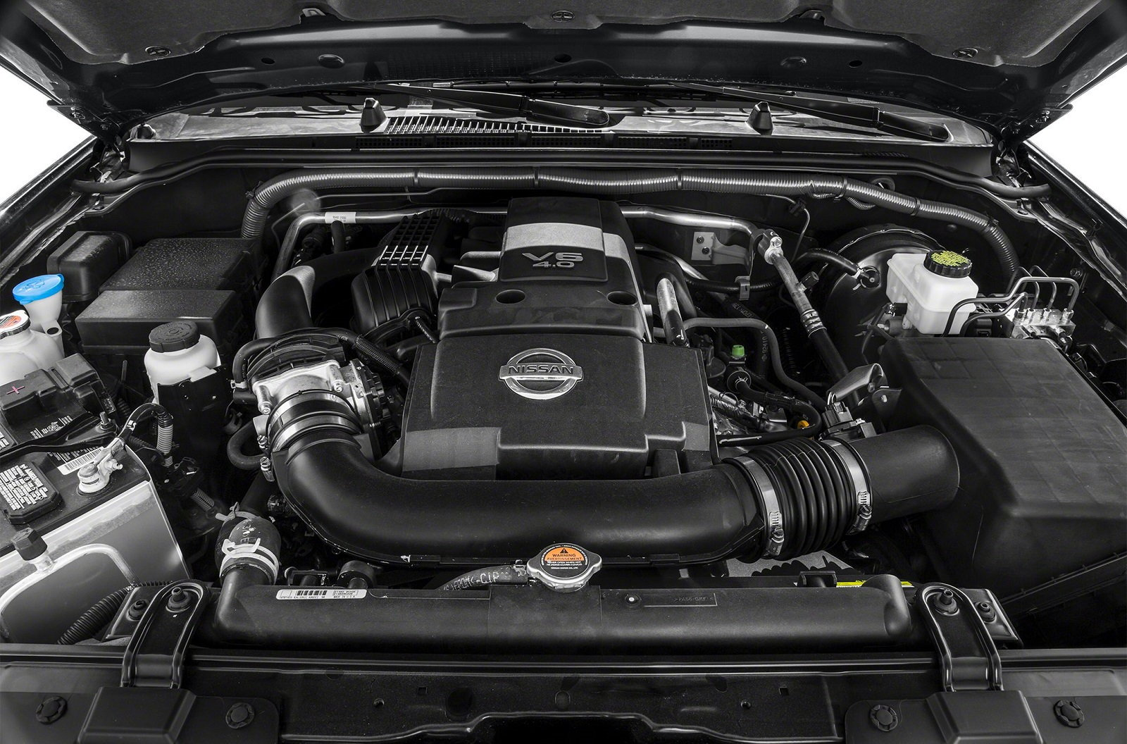 Nissan Frontier Engine Bay