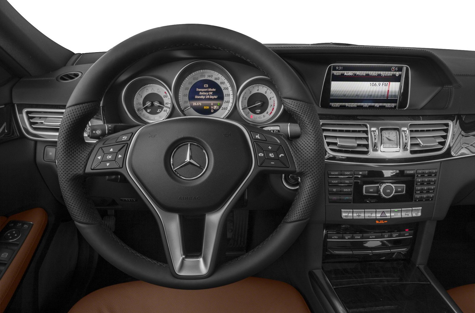 Mercedes-Benz E350 Interior