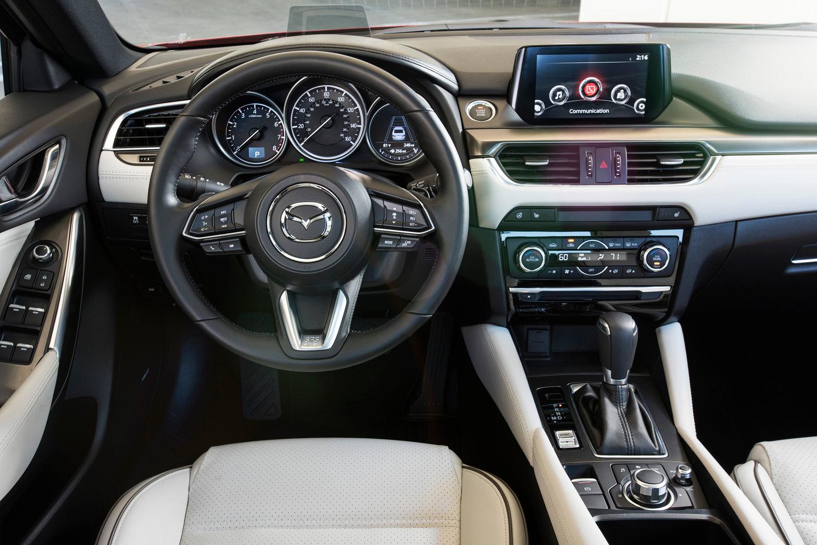 2018 Mazda Mazda6 Preview Pricing Release Date