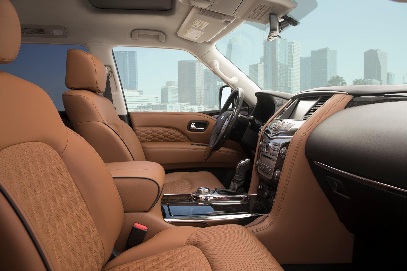 Updated 2018 Infiniti QX80 starts at $65,745 - CarsDirect