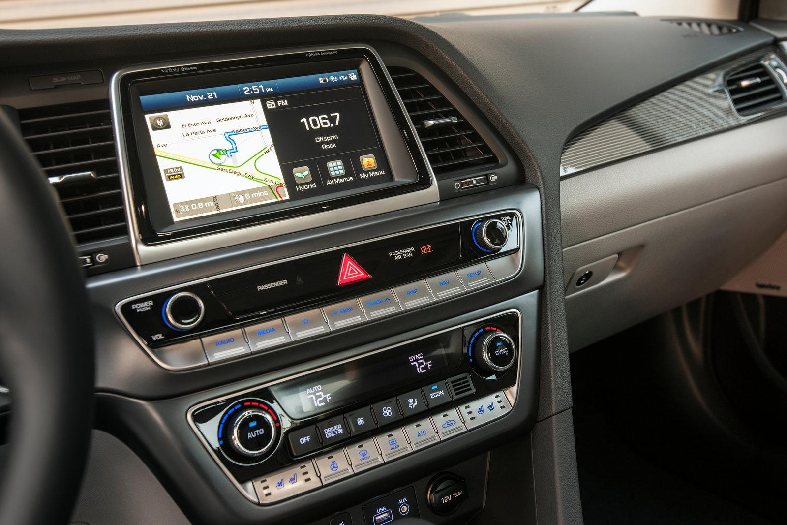 2018 Hyundai Sonata Plug In Hybrid Styles Features Highlights
