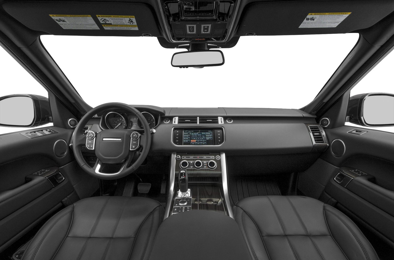 2016 Land Rover Range Sport Review Carsdirect Interior
