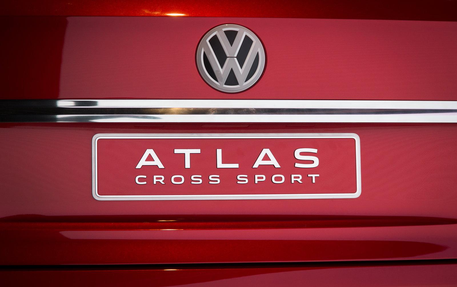 volkswagen atlas cross sport preview pricing release date