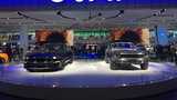 Ford Mustang Display at 2018 Detroit Auto Show