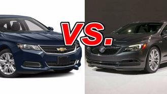 chevrolet impala vs buick lacrosse carsdirect. Black Bedroom Furniture Sets. Home Design Ideas