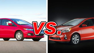 Honda Insight Vs Toyota Prius C Carsdirect