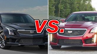 Cadillac ATS-V vs. Cadillac CTS-V - CarsDirect