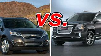 Subaru Build Your Own >> Chevrolet Traverse vs. GMC Terrain - CarsDirect