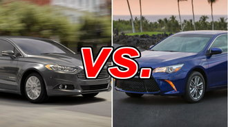 Ford Fusion Hybrid Vs Toyota Camry