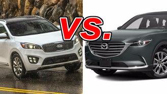 Mazda cx 9 vs kia sorento 2016