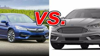 Honda Accord Hybrid Vs Ford Fusion