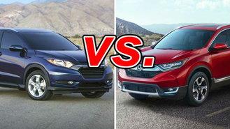 Honda Hrv Vs Crv >> Honda Hr V Vs Honda Cr V Carsdirect