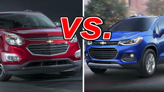chevrolet trax vs chevrolet equinox carsdirect. Black Bedroom Furniture Sets. Home Design Ideas