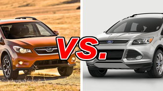 subaru xv crosstrek vs ford escape carsdirect. Black Bedroom Furniture Sets. Home Design Ideas
