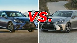 Lexus ES vs  Lexus GS - CarsDirect