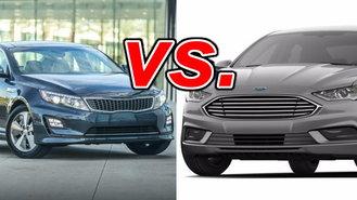Kia Optima Hybrid Vs Ford Fusion