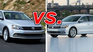 Jetta Vs Passat >> Volkswagen Jetta Vs Volkswagen Passat Carsdirect