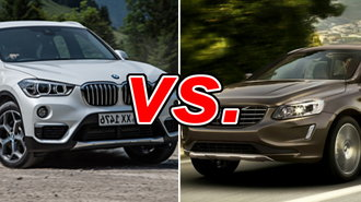 Volvo xc60 vs bmw x1