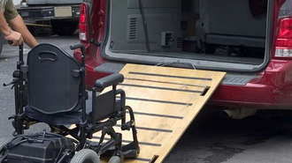 A Wheelchair Accessible Vehicle