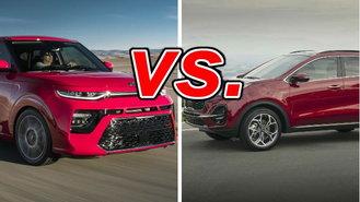 Kia Soul vs  Kia Sportage - CarsDirect