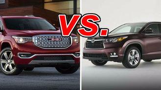 Acadia vs highlander