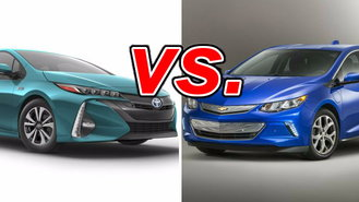 toyota prius prime vs chevrolet volt carsdirect. Black Bedroom Furniture Sets. Home Design Ideas