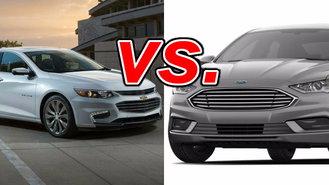 Chevrolet Malibu Hybrid Vs Ford Fusion