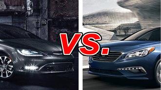 Chrysler 200 vs Hyundai Sonata - CarsDirect