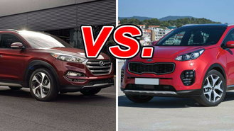 Though Not Quite Twins, The Hyundai Tucson And Kia Sportage Definitely  Qualify As Corporate Cousins. Both Brands Are Part Of The Hyundai  Conglomerate And ...