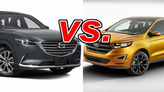 Both The Mazda Cx  And The Ford Edge Are Strong Competitors In The Crossover Suv Segment They Offer The Maneuverability Of A Smaller Suv With The Spacious