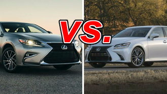 Difference between lexus is and es