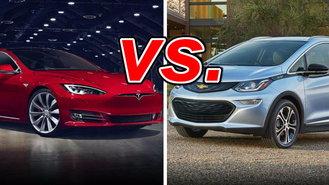 Chevrolet Bolt Ev Vs Tesla Model S
