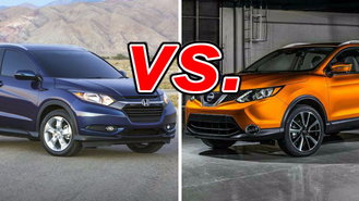 nissan rogue sport vs honda hr v carsdirect. Black Bedroom Furniture Sets. Home Design Ideas