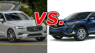 Volvo xc60 vs acura rdx