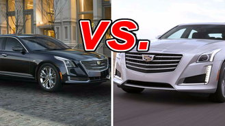 Cadillac Ct6 Vs Cadillac Cts Carsdirect