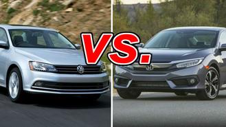 Volkswagen Jetta Vs Honda Civic Carsdirect