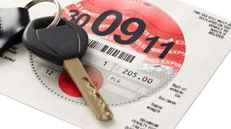 DVLA Car Tax Disc