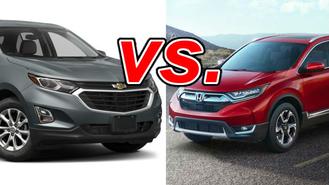 Chevrolet equinox vs honda crv