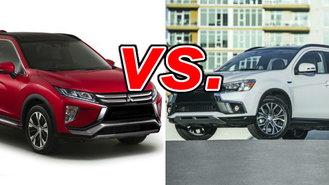Mitsubishi Eclipse Cross vs  Mitsubishi Outlander Sport - CarsDirect