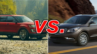 Ford Explorer Vs Buick Enclave CarsDirect - Buick ford